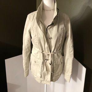 Aeropostale  Womens Khaki Utility Jacket Size M